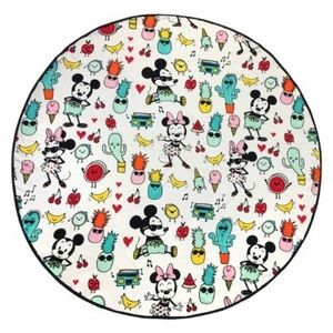 Disney Mickey & Minnie summer round beach towel